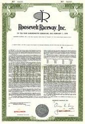 Roosevelt Raceway, Inc. - New York 1940