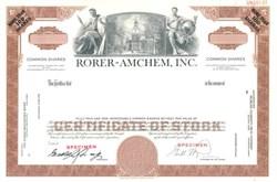 Rorer-Amchem, Inc.
