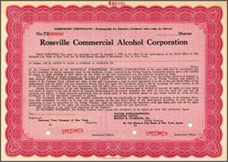 Rossville Commercial Alcohol Corporation (Rossville Union Distillers)