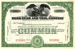 Ross Gear and Tool Company ( Now TRW )