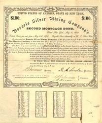 Rosario Silver Mining Company - Arizona. Santa Cruz. Tyndall 1870