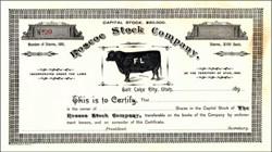 Roscoe Stock Company 189X - Territory of Utah