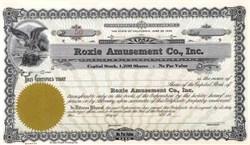 Roxie Amusement Company 1939
