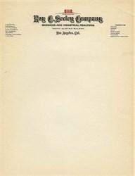 Roy C. Seeley Company - Los Angeles, California