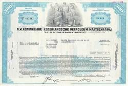 Royal Dutch Petroleum Company Stock