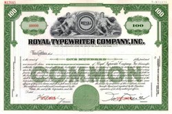 Royal Typewriter Company