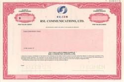 RSL Communications, Ltd.