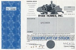 Ryan Homes, Inc. - Pennsylvania