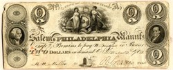 Salem and Philadelphia Manufacturing Company - New Jersey 1828