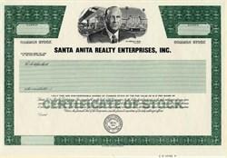 Santa Anita Realty Enterprises, Inc. - Delaware
