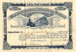 Santa Barbara Silver Mining Company  (United States of Mexico) -  Incorporated in Colorado 1884