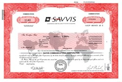 Savvis Communications Corporation - 2001