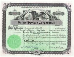 Safety Devices Corporation - Delaware 1931