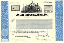 Santa Fe Energy Resources, Inc. - Delaware 1990