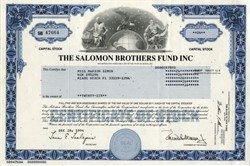 Salomon Brothers Fund, Inc.  - Maryland 1994