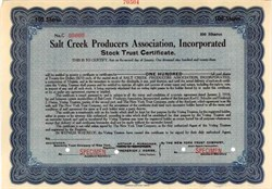 Salt Creek Producers Association, Incorporated