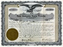 San Antonio Turn Verein - Texas 1926