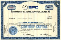 San Francisco & Oakland Helicopter Airlines, Inc. - California 1965