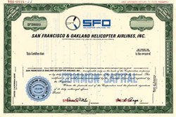 San Francisco & Oakland Helicopter Airlines, Inc. - California