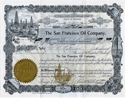 San Francisco Oil Company - 1902