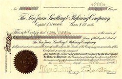 San Juan Smelting & Refining Company - Durango, Colorado 1903