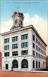 Santa Rosa Bank, Santa Rosa, Claifornia Postcard