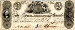 Salem Philadelphia Manufacturing - New Jersey 1829