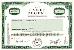 Sands Regent - Nevada