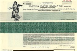 Saatchi & Saatchi Company PLC - England