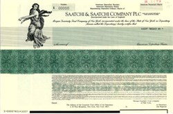 Saatchi & Saatchi Company PLC - American Depositary Share