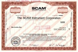 Scam Instrument Corporation ( Scam was used in nuclear reactor facilities )