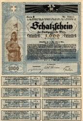 Schatzschein Bond - Austrian Art Deco 1920