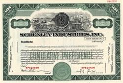 Schenley Industries, Inc. (Famous Whiskey Distiller)  - Delaware