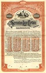 Scranton Lace Curtain Company - Pennsylvania 1905