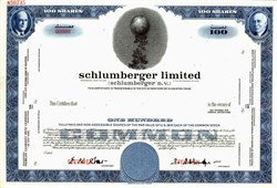 Schlumberger Limited (Sclumberger N.V.) - Netherlands Antilles
