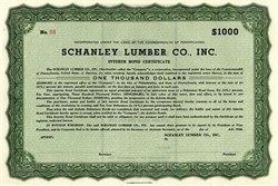 Schanley Lumber Co. Inc  - Pennsylvania 1946