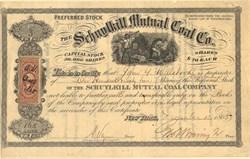 Schuylkill Mutual Coal Company - Pennsylvania 1865