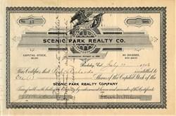 Scenic Park Realty Co. - Berkeley, California 1906