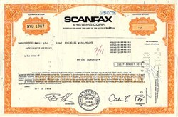 Scanfax Systems Corp.- Delaware 1966