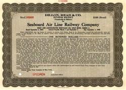 Seaboard Air Line Railway Company ( Dillion Read & Co )