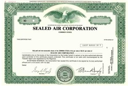 sealed air coporation Sealed air corporation is a knowledge-based company focused on packaging solutions that help our customers achieve their sustainability goals in the face of today's.
