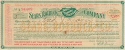 Sears, Roebuck, and Company Profit Sharing Certificate ps/R.W. Sears