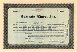 Seatrain Lines, Inc. 1932
