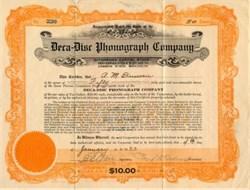 Deca-Disc Phonograph Company - Delaware 1923