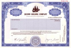 Seconn Holding Company - Connecticut