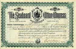 Seaboard Cotton Compress Company - Norfolk, Virginia 1889