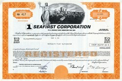 Seafirst Corporation ( Now Bank of America ) - Seattle, Washington - 1977