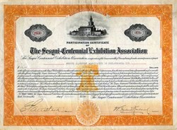 Sesqui-Centennial Exhibition Association - Pennsylvania 1925