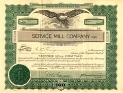 Service Mill Company  -  Bristol, Virginia  1922