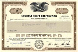 Seminole Kraft Corporation ( Now Stone Container )